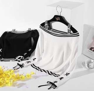 Korean Style Ulzzang White Shirt Top