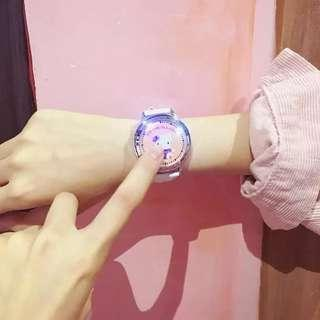 hello kitty touch screen led watch