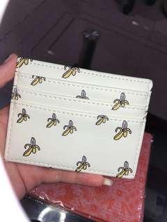 Card Holder Motif 6 Slot + Money Slot Banana [NET] #CardHolder #CardHolderMotif