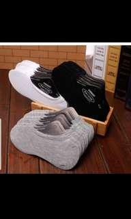 🚚 3 pairs socks Women , men cotton soft boat socks