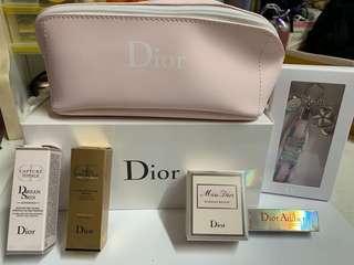 Dior 套裝 化妝 護膚 香水 set