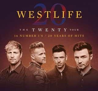🚚 2 x CAT 1 westlife tickets