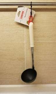 意大利硅膠長柄湯勺(+210°c)