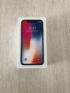 NEW iPhone X 64g