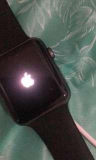 Jual i watch series 1 warna grey n silver 42mm