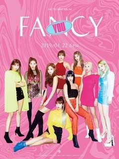 "[BATCH 1] TWICE 7th Mini Album ""Fancy You"""