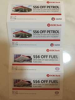 🚚 Caltex $6 off x 4 for sale at $5