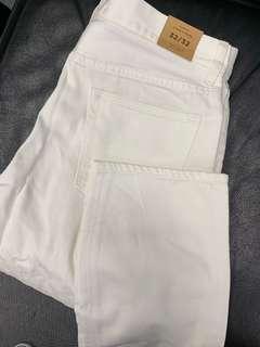 Summer White Jeans - J Crew/CDG/Dsquared/Levi's/IT