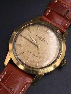 古董Record鵝嘜包金手上弦手錶