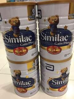 Similac Stage 3 (1.8kg x 4) Free Delivery