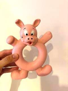 Pig Squishy dog toy
