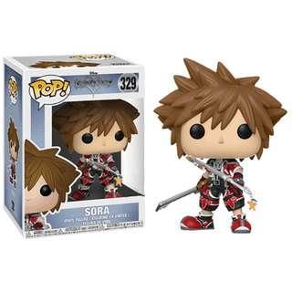 Kingdom Hearts Sora Pop! Vinyl