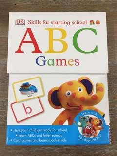 ABC Games- cards & book