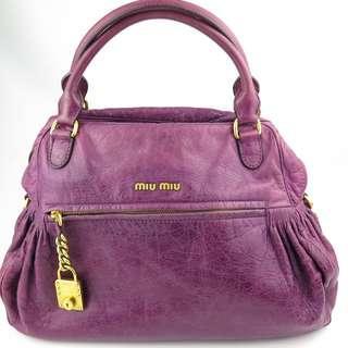 Miu Miu Nappa Charm Bag