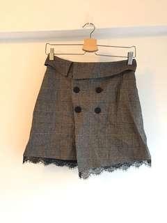 (半價)Zara Basic灰色短裙