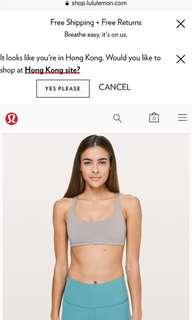 Lululemon Size 6 sexy sports bra(yoga/running/gym)
