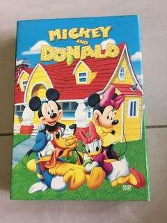 11 DVDs Disney's Mickey & Donald