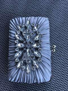 Evening dress bag with Crystal
