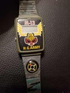 hysteric mini黑超b手錶(只供收藏)包郵