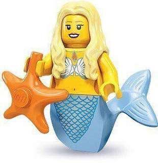 全新 LEGO 71000 Minifigures series 9 12號美人魚  已開袋確認