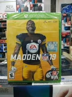 🆕 Xbox One Madden NFL 19