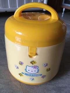 [包順豐站]Hello Kitty 2003年絕版保溫暖湯飯壺