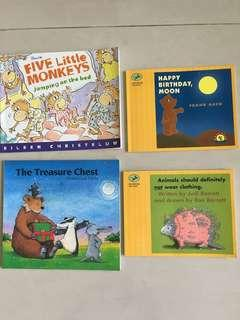4 great story books