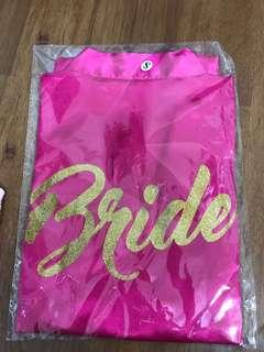 Robe for bride