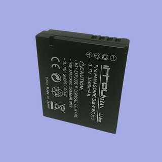 DMW-BCJ13, DMW-BCJ13E Compatible Rechargeable Lithium-Ion Battery for Panasonic LX7 & LX5