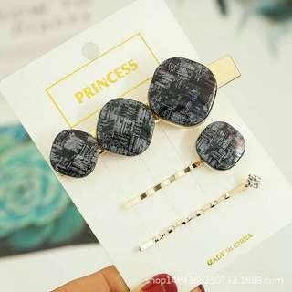 99 only! Set of trendy clips