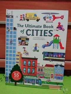 Pre order The Ultimate Book of Cities 立體書