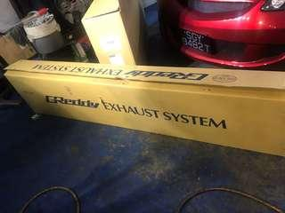 Greddy exhaust system