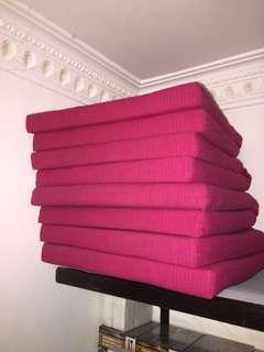 Seat cushions IKEA (red) 坐墊