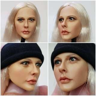 Kumik Female Head Sculpt 13-1 NP (Short Hair) [1/6 phicen / TBLeague / Hot Toys / Kitbash]