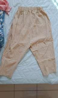 🚚 Queenshop 米色老爺褲