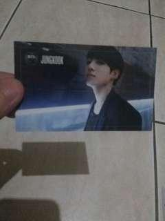 Wts jungkook bts dark and wild photocard official