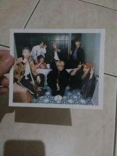 Wts bts wings group Polaroid official