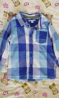 Esprit long sleeves shirt boys 24 months