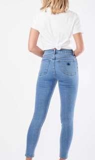 A-Brand A High Skinny Ankle Basher Jeans, LA Blues size 6