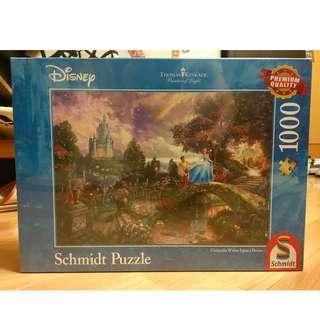 Disney Cinderella puzzle 灰姑娘 砌圖 Schmidt 1000塊