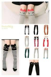 *INSTOCK* Knee Length Socks (3-12 years old)