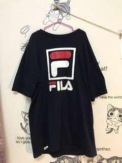 🚚 FILA黑色T-shirt