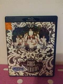 少女時代巡迴演唱會blu ray disc
