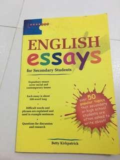 中學生英文泛文- English Essays for secondary students