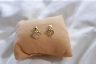 92.5 Sterling Silver Pandora Inspired Earrings