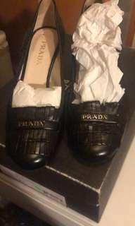 Prada black heels - 36