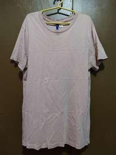 H&M Pastel Pink Tshirt