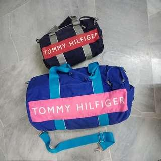 Auth. Tommy Hilfiger Duffle Bag
