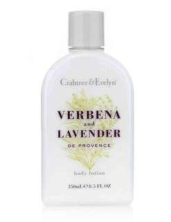 🚚 Crabtree & Evelyn Verbena and Lavender Body Lotion 250ml
