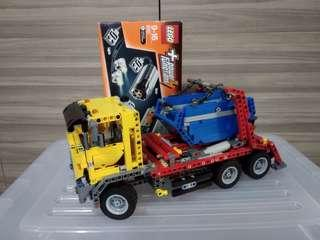 Lego Technic 42024 with Power Function